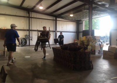 warehouse moving day