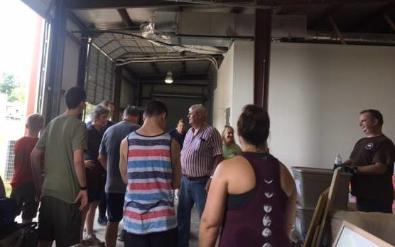 warehouse moving day volunteers