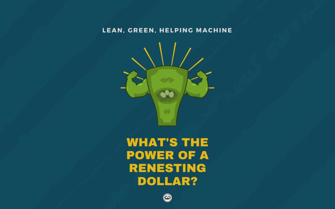 Lean, Green, Helping Machine