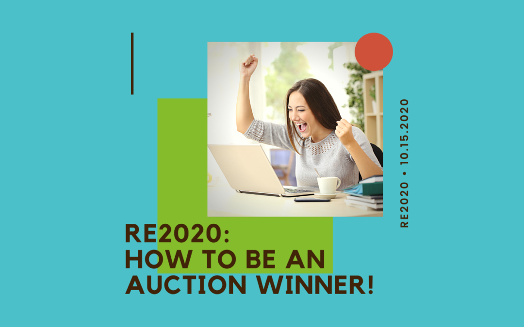 re2020: How to be an Auction Winner!