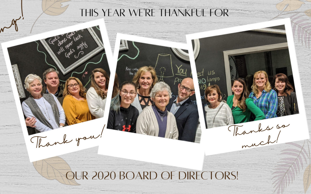 Thankful, Grateful, Blessed with a Great Board!