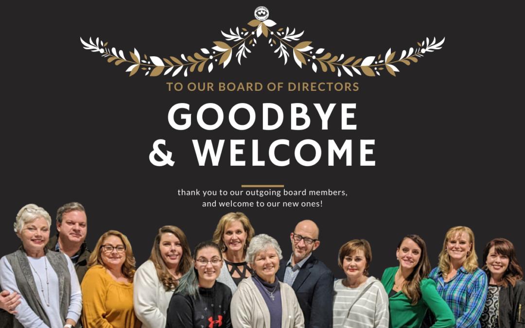 Goodbye & Welcome