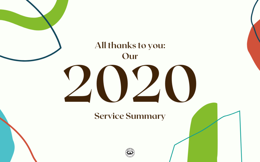 Thanks to YOU!: Our 2020 Service Summary