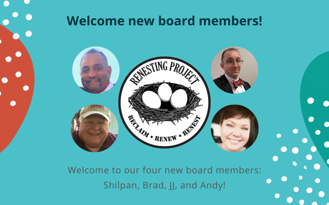 New Board Member Introductions!