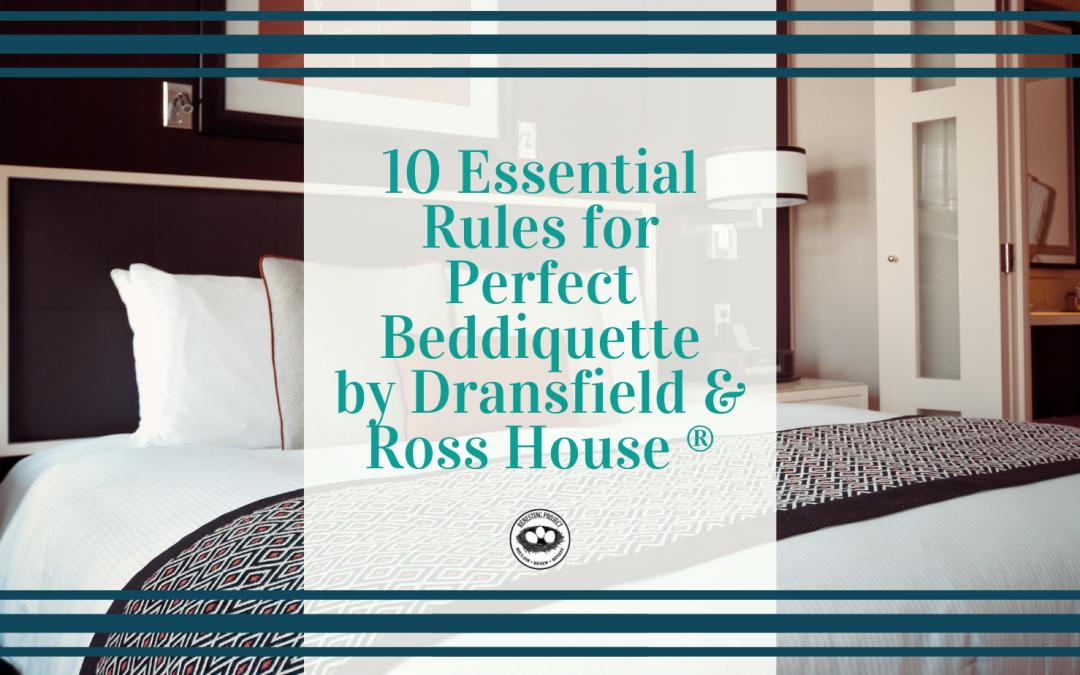 Beddiquette Rules